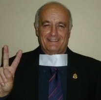Padre Vic Burgess