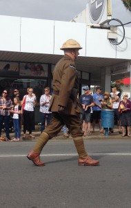 JW ANZAC Day marching